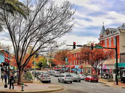 Downtown Athens Georgia