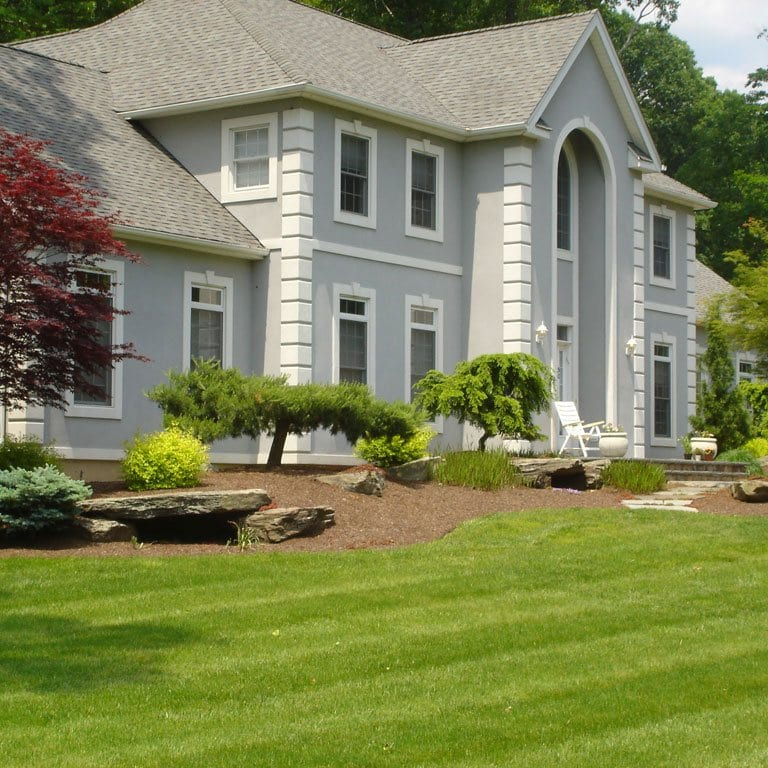 lawn service including maintenance